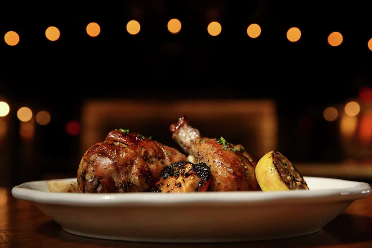The Spit Roasted Chicken is among the new menu stars at Goode Company Armadillo Palace.