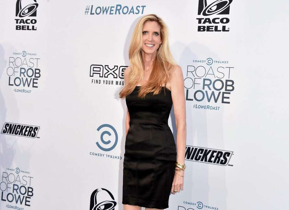 LOS ANGELES, CA - AUGUST 27:  Political commentator, author Ann Coulter attends The Comedy Central Roast of Rob Lowe at Sony Studios on August 27, 2016 in Los Angeles, California.  (Photo by Alberto E. Rodriguez/Getty Images) Photo: Alberto E. Rodriguez / Getty Images / 2016 Getty Images