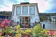 A spacious, three-level house boat at 25 E. Pier in Sausalito is on the market for $1.545 million.