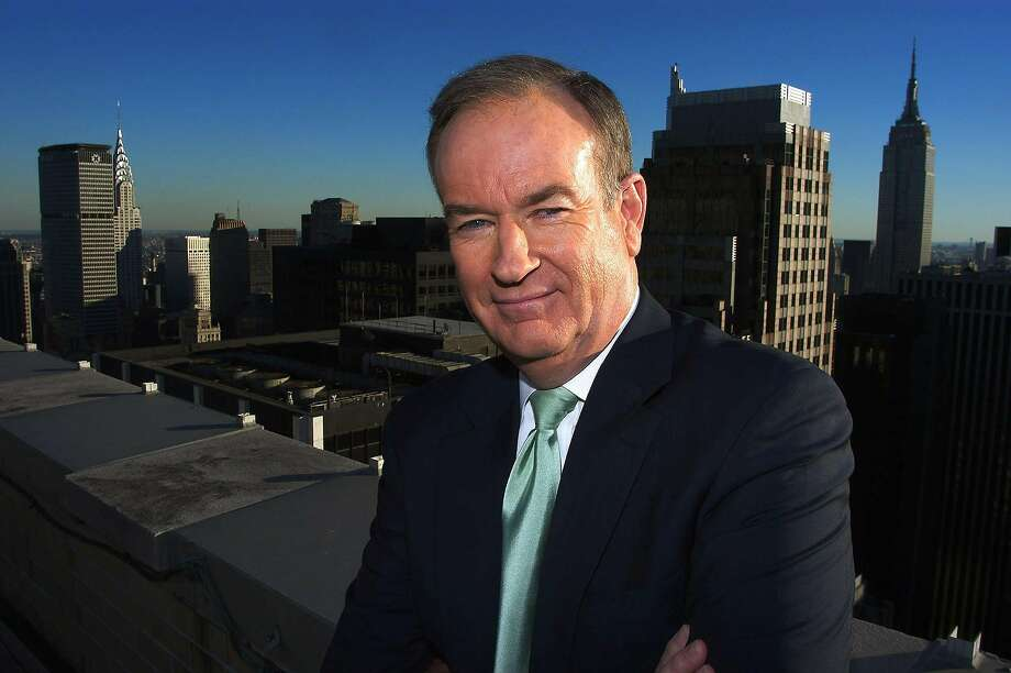 Bill O'Reilly in happier days. Photo: JIM COOPER, AP