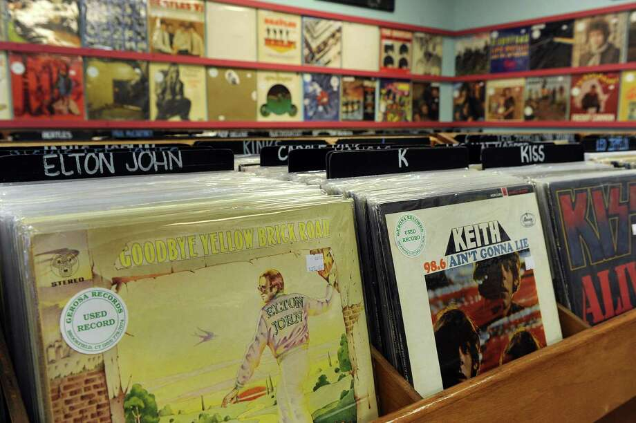 Gerosa Records in Brookfield is celebrating 30 years in business. photo Tuesday, Nov. 1, 2016. Photo: Carol Kaliff / Hearst Connecticut Media / The News-Times