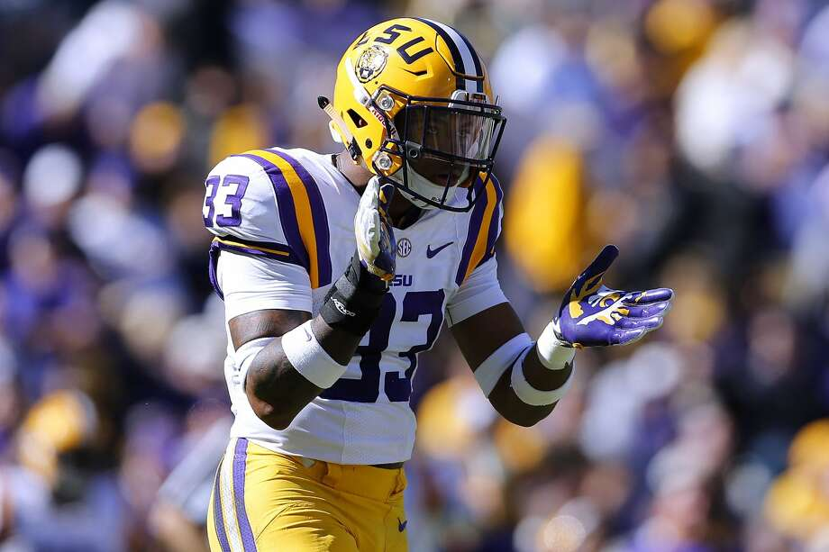 NFL DRAFT: SIZING UP THE DEFENSIVE BACKSJamal Adams, S, 6-0, 214, 4.56, LSUHe's the most qualified defensive back to be the first one drafted. He's got excellent size and good speed. He can play close to the line of scrimmage or as the last line of defense. He's a hard hitter who plays with passion. Has a tremendous work ethic. Excelled against outstanding receivers. Could be the first defensive back drafted. Photo: Jonathan Bachman/Getty Images