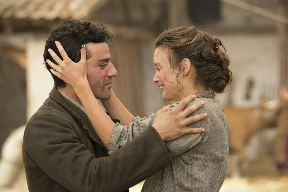 "Oscar Isaac is a medical student who falls for a young teacher (Charlotte Le Bon) in ""The Promise."" Photo: Open Road Films / ©joseharo"