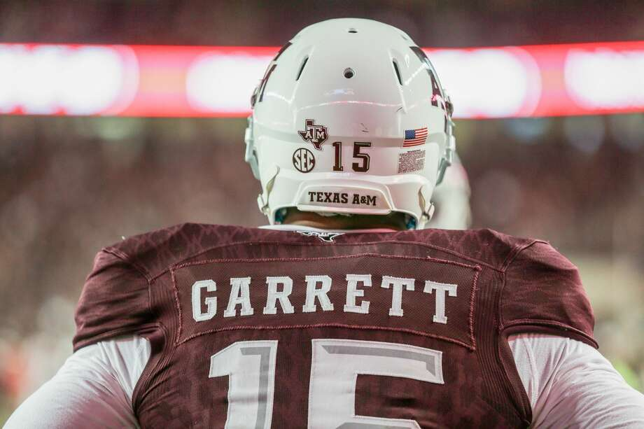 TEXAS COLLEGES AND LOCAL DRAFT PROSPECTSMyles Garrett, DE, Texas A&MHigh school: Arlington MartinProjected round: 1 Photo: Bob Levey/Getty Images