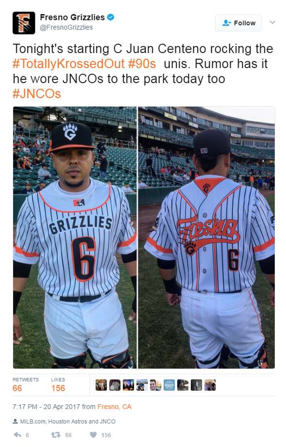 Craziest names in minor league baseballThe fun in minor league baseball isn't limited to one-off uniforms.Keep going for a look at the most interesting teams names in baseball.@FresnoGrizzlies