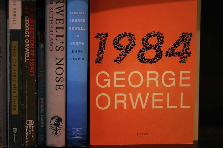 """Theater productions of George Orwell's """"1984,"""" like reprints of the novel, are on the rise in 2017."""