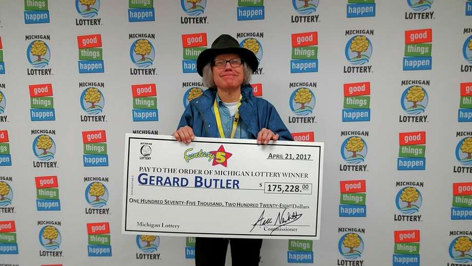 Gerard Butler, of Midland, bought his winning ticket at the Shell gas station located at 2029 S. Saginaw Road in Midland. He's splitting a $350,456 Fantasy 5 jackpot.