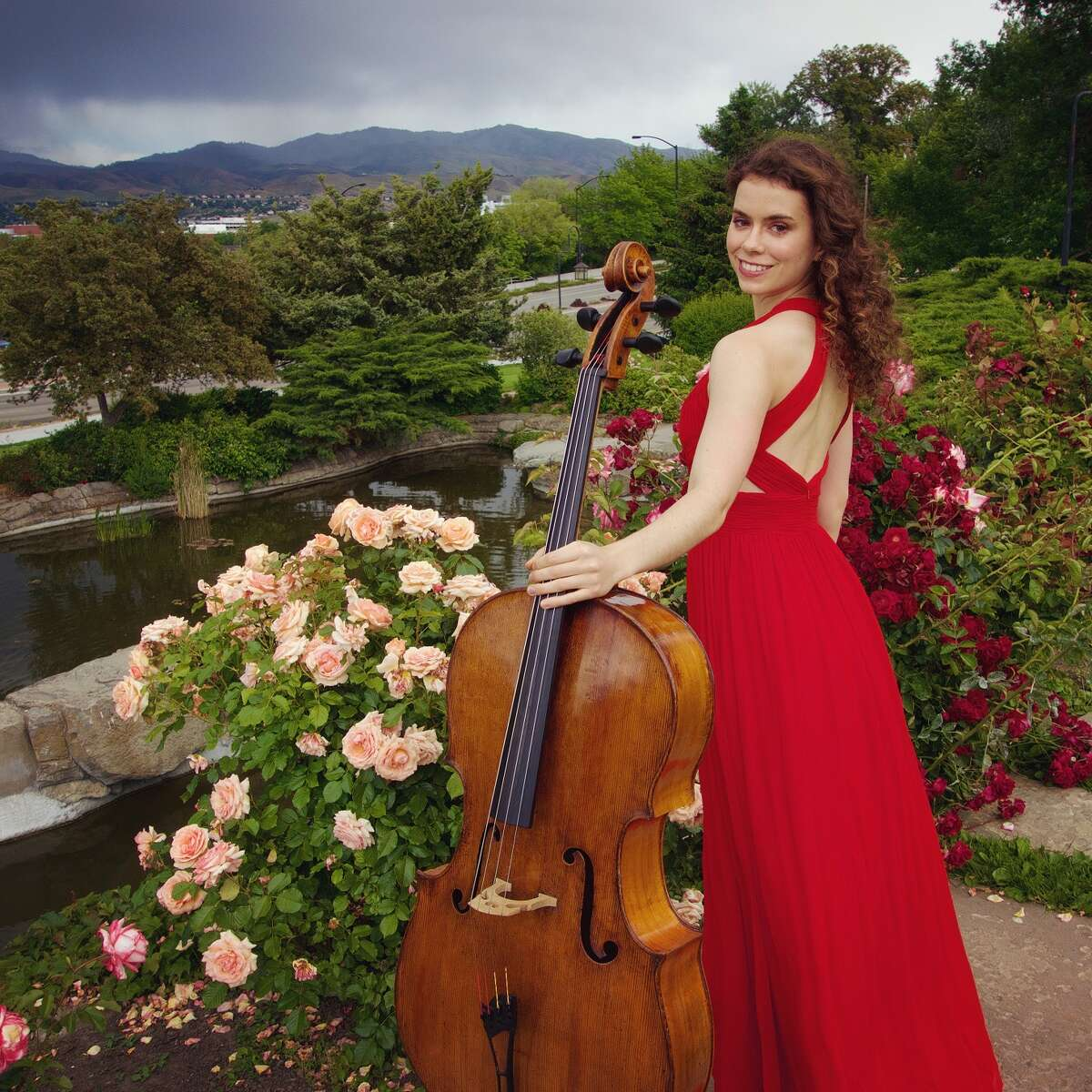 Cello soloist and winner of the Young Texas Artist Competition Katherine Audas will perform Tchaikovsky's Variations on a Rococo Theme at the April 30 Woodlands Symphony Ochestra concert.