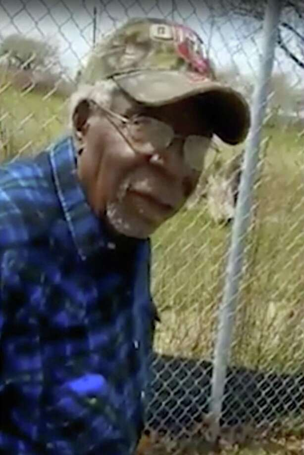 This April 16 frame from video posted on Facebook shows Robert Godwin Sr. in Cleveland moments before being fatally shot. It streamed on Facebook for two hours before it was shut down. Photo: /Associated Press / Facebook
