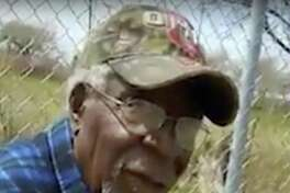 This April 16 frame from video posted on Facebook shows Robert Godwin Sr. in Cleveland moments before being fatally shot. It streamed on Facebook for two hours before it was shut down.
