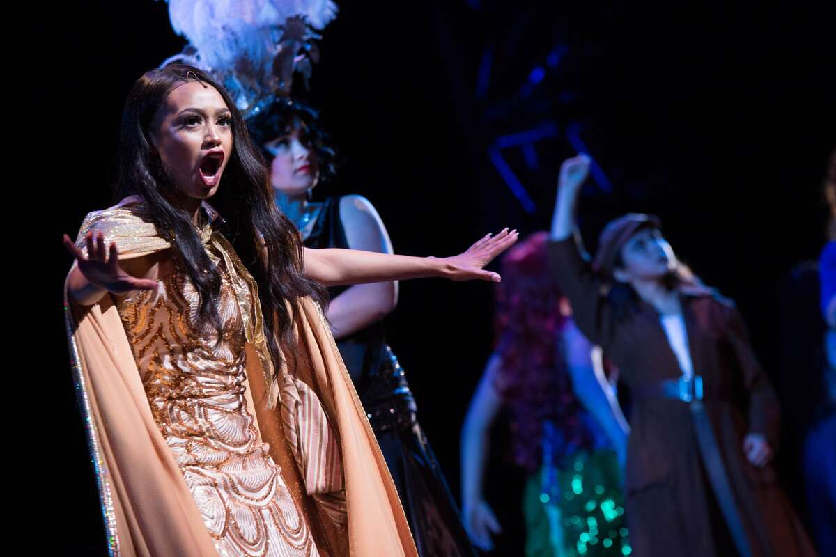 Best Lead Actress winner Jasmine Rogers as The Witch in Stephen F. Austin High School's