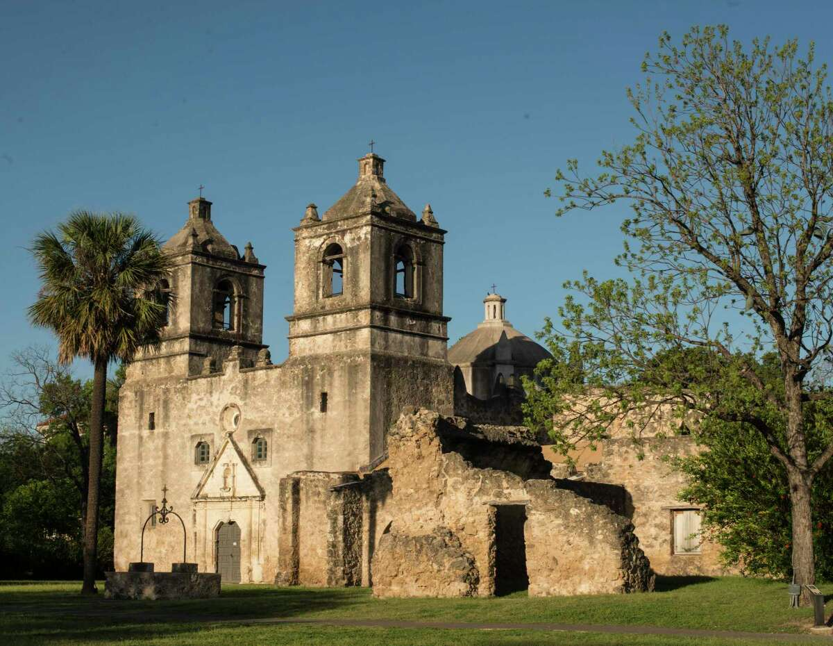 Mission Concepcion was dedicated in 1755. March 29, 2017.