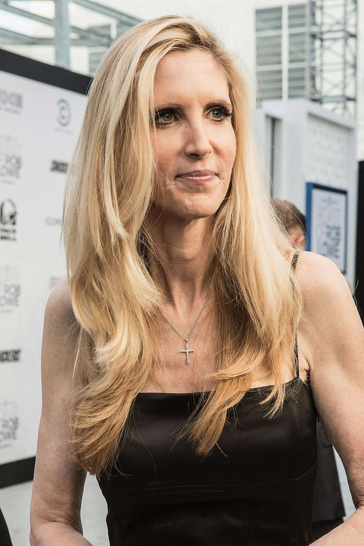 LOS ANGELES, CA - AUGUST 27: Ann Coulter attends the Comedy Central roast of Rob Lowe held at Sony Studios on August 27, 2016 in Los Angeles, California. (Photo by Harmony Gerber/WireImage)