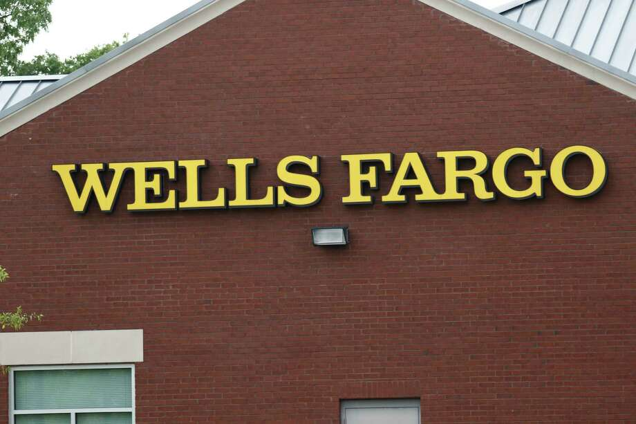 This April 11, 2017, photo shows a Wells Fargo bank in northeast Jackson, Miss. On Friday, April 21, 2017. (AP Photo/Rogelio V. Solis) Photo: Rogelio V. Solis, STF / Copyright 2017 The Associated Press. All rights reserved.