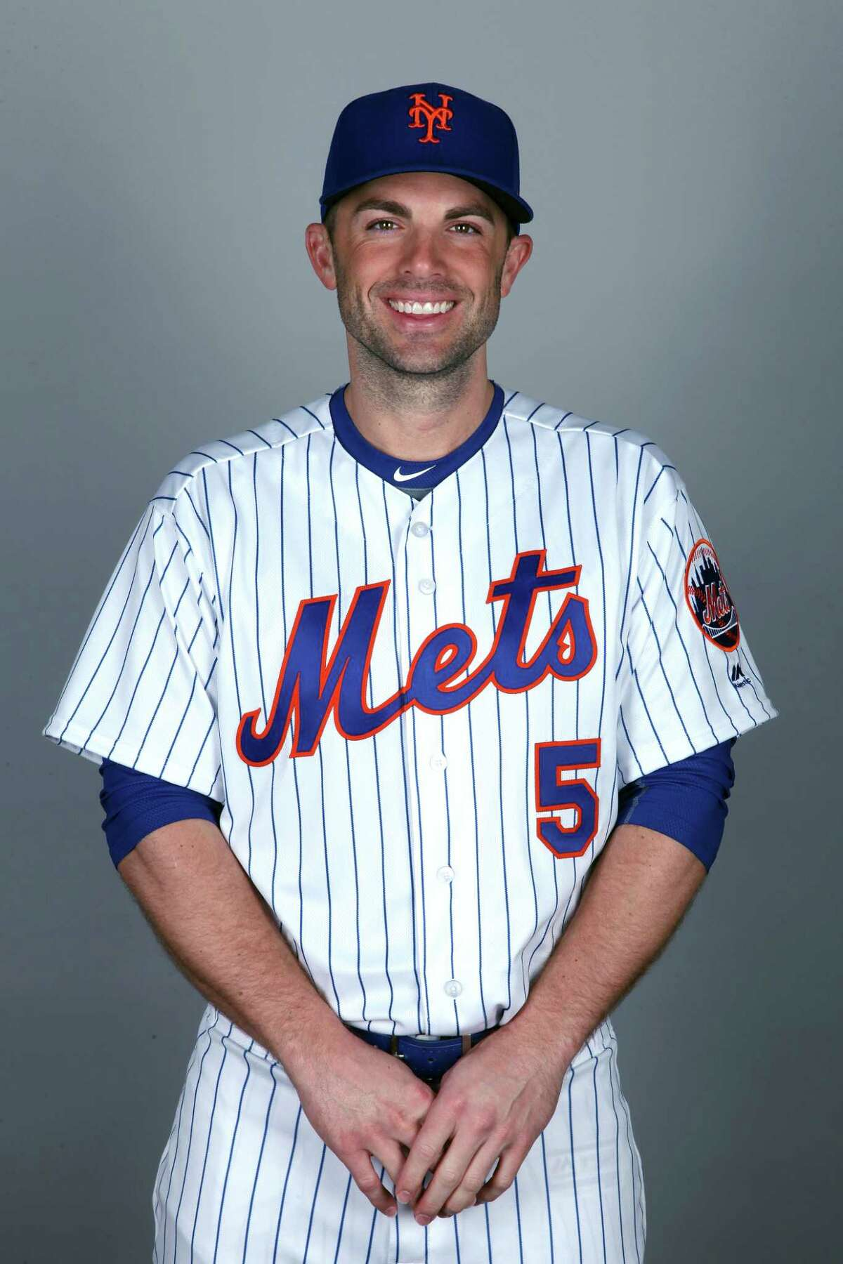 PORT ST. LUCIE, FL - FEBRUARY 22: David Wright #5 of the New York Mets poses during Photo Day on Wednesday, February 22, 2017 at Tradition Field in Port St. Lucie, Florida. (Photo by Eliot J. Schechter/MLB Photos via Getty Images) *** Local Caption *** David Wright