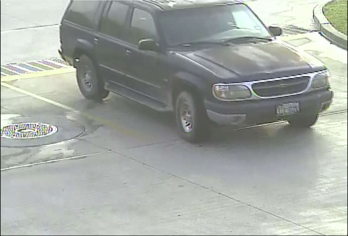 Montgomery County law enforcement is searching for this vehicle, which they believe was used to help a bank robbery suspect flee the area after he initially fled the bank on bicycle.