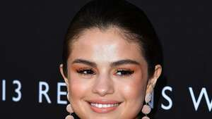 """LOS ANGELES, CA - MARCH 30:  Selena Gomez arrives at the Premiere Of Netflix's """"13 Reasons Why"""" at Paramount Pictures on March 30, 2017 in Los Angeles, California.  (Photo by Steve Granitz/WireImage)"""