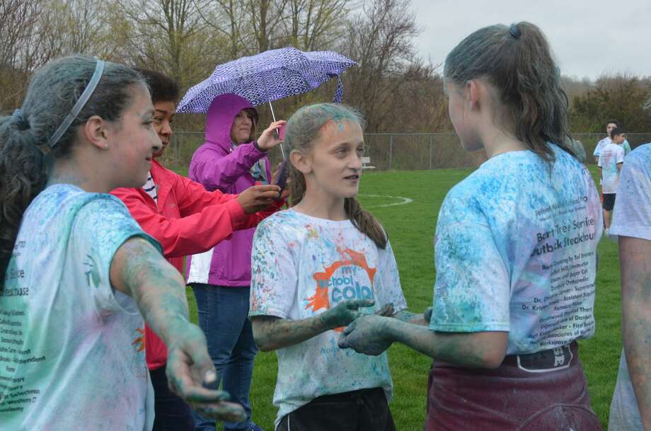 The Bethel Middle School Color Run was held on April 22, 2017. Students and community members ran and walked to raise funds for the seventh grade Nature's Classroom trip. Were you SEEN? Photo: Vic Eng / Hearst Connecticut Media Group