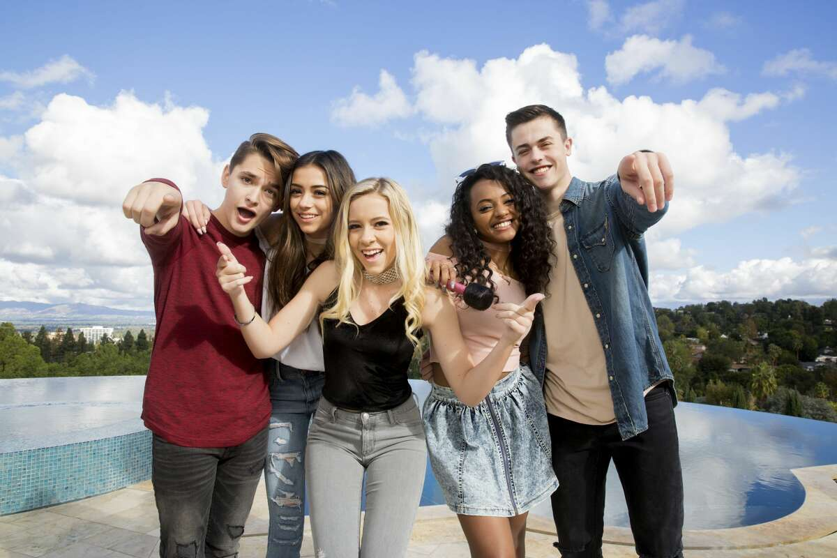 Five talented kids from around the country got the opportunity of their lives: to work with Grammy-winning producer Timbaland on new reality show, 'The Pop Game.' But only one -- San Antonio's Ian Grey, far left, walked away with the grand prize that was announced Friday night: a record contract with Timbaland's label.