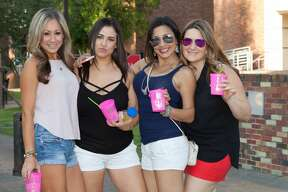 Food and music was the order of the evening Friday, April 21, 2017, in San Antonio's central suburb Alamo Heights for Fiesta's Annual Alamo Heights Night. All the usual suspects abounded, from funnel cakes and turkey legs to sausage on a stick and gorditas.