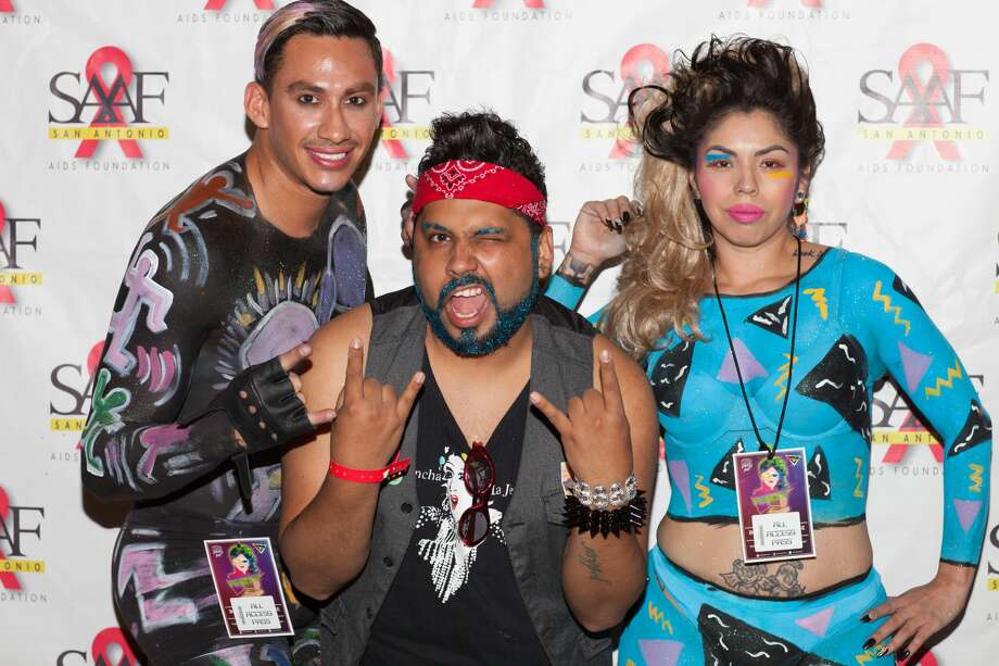 It's been more than a year since we got to party for a cause at Fiesta, but Friday night April 21, 2017, at the Bonham Exchange the San Antonio AIDS Foundation presented its WEBB Party. After a year's hiatus, those familiar party, soon were reminded why it is one of Fiesta's most popular events. Here is a look at the festivities. Photo: Fabian Villa For MySA.com
