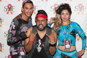 It's been more than a year since we got to party for a cause at Fiesta, but Friday night April 21, 2017, at the Bonham Exchange the San Antonio AIDS Foundation presented its WEBB Party. After a year's hiatus, those familiar party, soon were reminded why it is one of Fiesta's most popular events. Here is a look at the festivities.