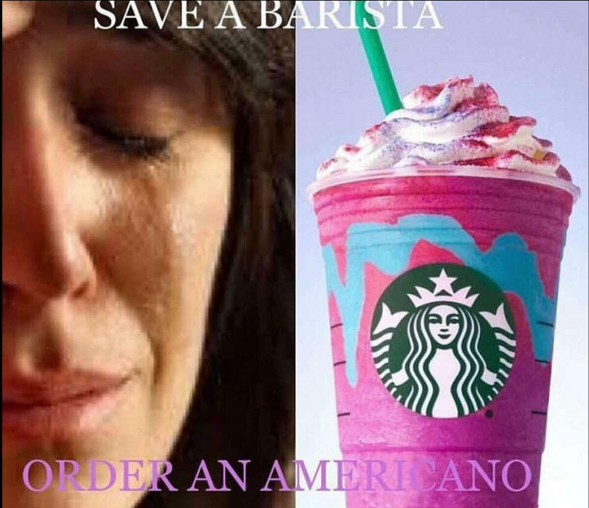 Click ahead for more Twitter stories about Starbucks' Unicorn Frappucino and the coffee conglomerate's baristas. Source: Twitter
