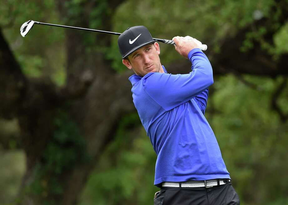 SAN ANTONIO, TX - APRIL 22:  Kevin Chappell  plays his shot from the sixth tee during the third round of the Valero Texas Open at TPC San Antonio AT&T Oaks Course on April 22, 2017 in San Antonio, Texas.  (Photo by Steve Dykes/Getty Images) Photo: Steve Dykes, Stringer / 2017 Getty Images