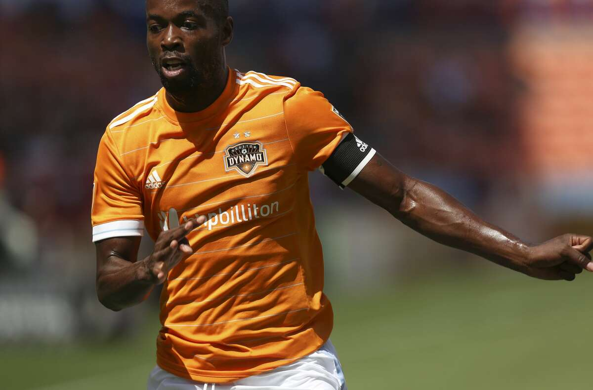 Houston Dynamo midfielder DaMarcus Beasley (7) during the first half of the game at BBVA Compass Stadium Saturday, April 22, 2017, in Houston. ( Yi-Chin Lee / Houston Chronicle )
