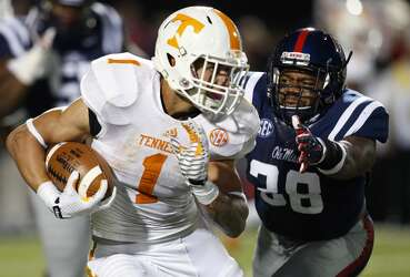 Former Tennessee star RB Jalen Hurd to play WR at Baylor