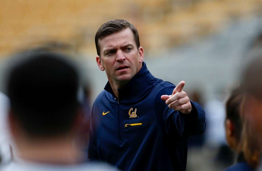 Cal coach Justin Wilcox landed 18 recruits on the first day of the early signing period. Photo: John Polzer / ISIPhotos