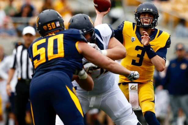 Quarterback Ross Bowers led the offense on four touchdown drives, completing 18 of 30 passes in the Cal spring game.
