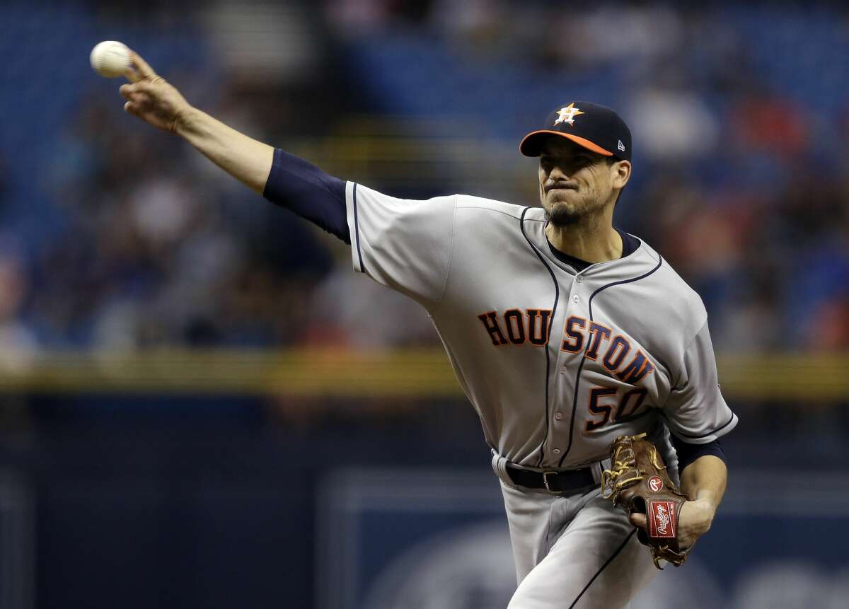 Astros pitcher Charlie Morton will return to the rotation on Friday in Toronto. He has missed the last six weeks with a strained lat.