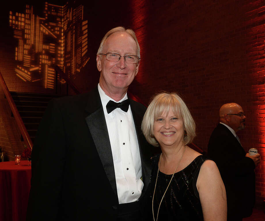 Mark and Kathleen Alsup were at the Christus of Southeast Texas Foundation's 37th annual Christus Gala at the Beaumont Civic Center Saturday. Grammy winning country music star Keith Urban entertained following a cocktail hour and dinner. The black tie affair was sold out as attendees wined, dined, enjoyed the entertainment while helping raise funds for the foundation's healing ministry. Photo taken Saturday, April 22, 2017 Kim Brent/The Enterprise Photo: Kim Brent / BEN