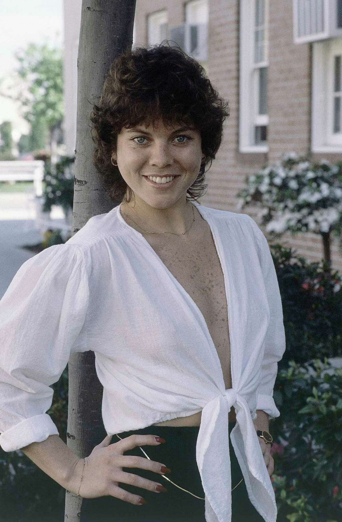 FILE - This Feb. 19, 1982 file photo shows actress Erin Moran of the television show,