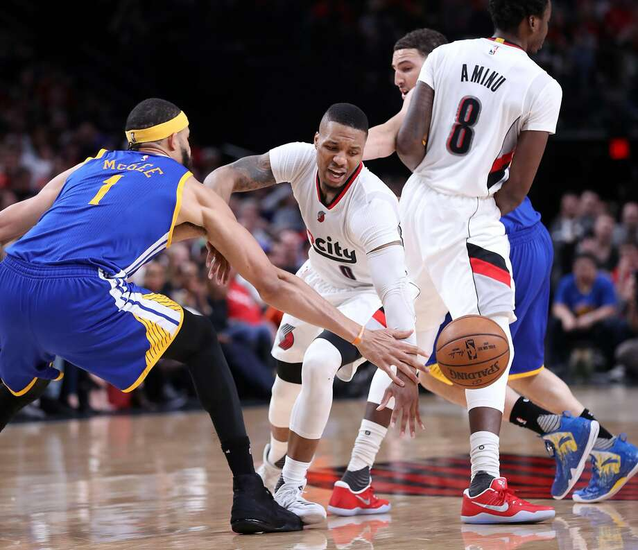 Blazers Game 3: Warriors Hold Off Blazers To Take 3-0 Series Lead