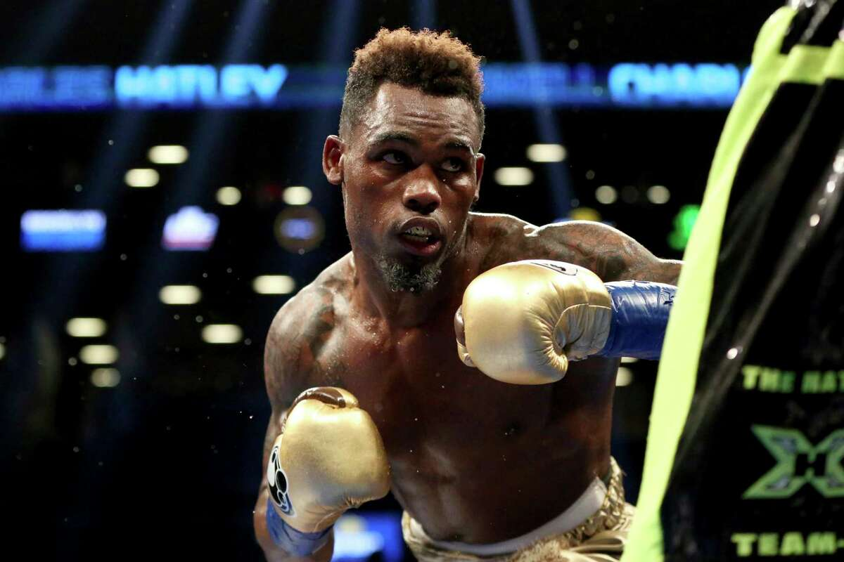 Jermell Charlo of Houston successfully defended his WBC junior middleweight title with a sixth-round knockout.