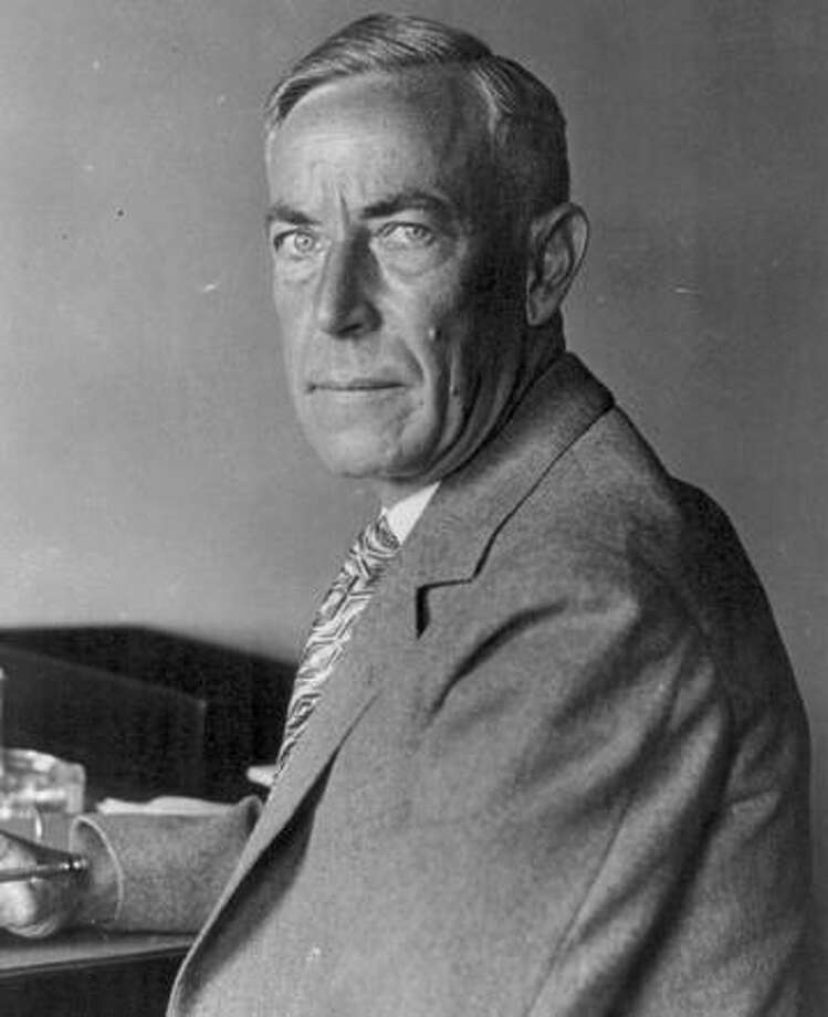 """August Vollmer, """"the father of modern law enforcement,"""" kept Berkeley calm during crises. Photo: Library Of Congress / Library Of Congress 1929 / Library of Congress"""