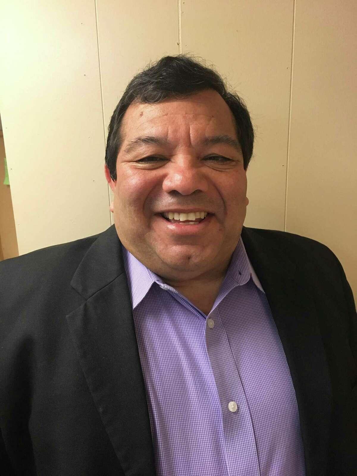 Orlando Salazar is running for Harlandale school board.