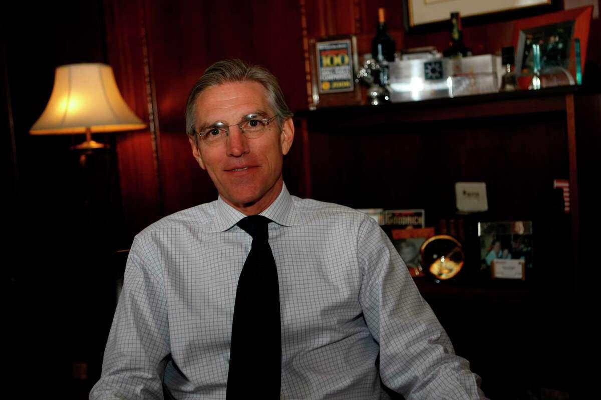 Walter G. 'Gil' Goodrich, CEO of Goodrich Petroleum, in 2009. ( Julio Cortez / Chronicle )