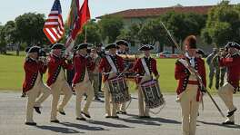 Fife and Drum Corps from Fort Meyers,Va., performed Sunday at Fort Sam's Fiesta and Fireworks, which is hosted by U.S. Army North and includes  band performances.