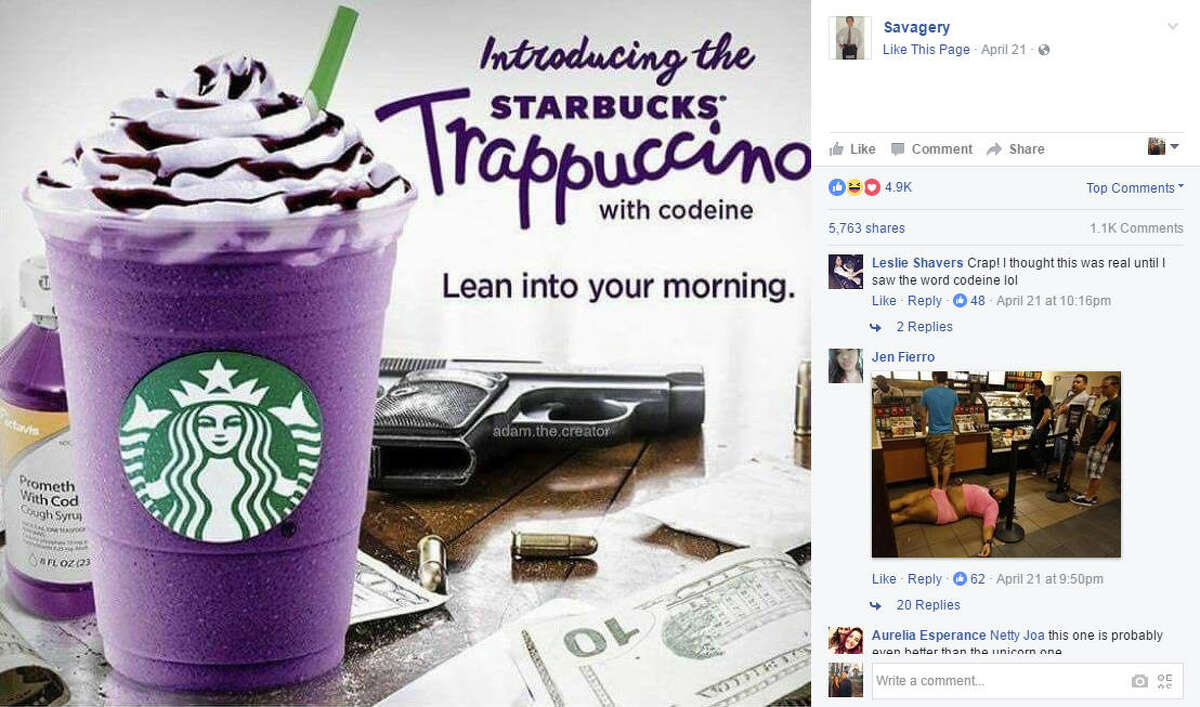 The internet has made a special Houston version of the Unicorn Frappuccino. Introducing the