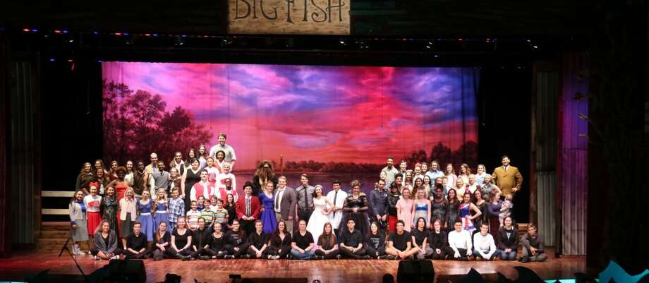 The cast of Clear Springs High school garnered a Tommy Tune award for their production of 'Big Fish.'