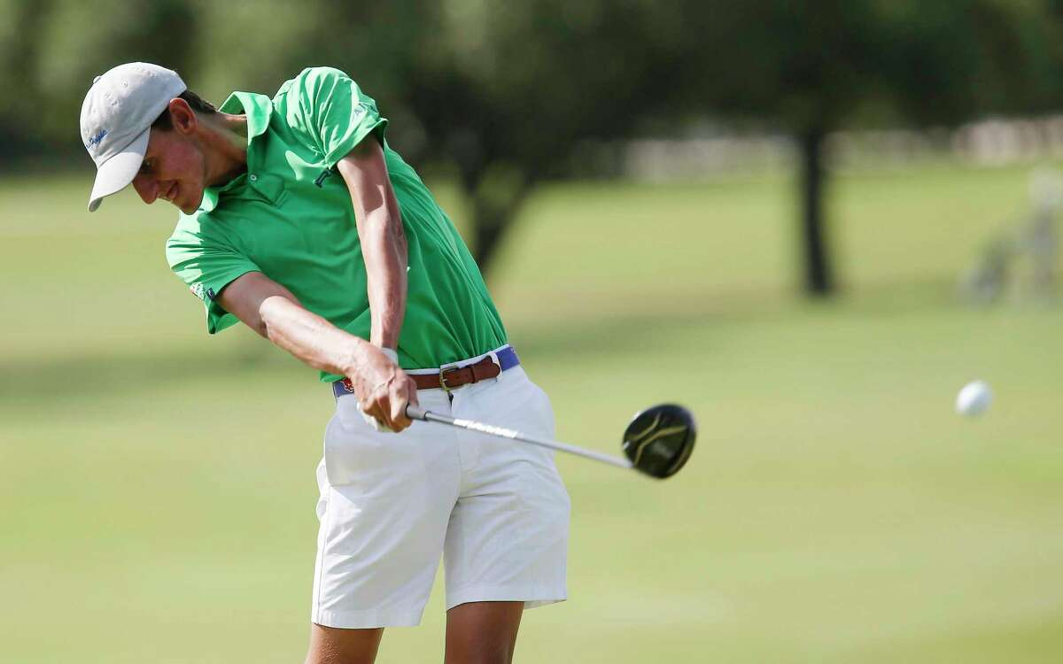 Alamo Heights senior Mac Meissner shot a school and course record 61 in the final round of the District 27-5A tournament at Golf Club of Texas in 2016.