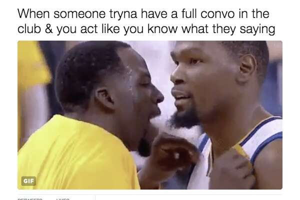 Kevin Durant loves the new meme of him and Draymond Green.