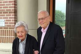 Married for 70 years, Dorothy and Ben Schleider live at Belmont Village Senior Living in Hunter's Creek. The two celebrated their seventh decade together April 3 with other community members at the Village.