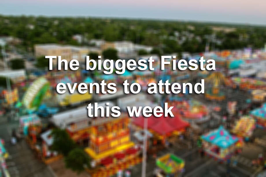 Keep clicking to see the biggest events to attend in the final week of Fiesta 2017. Photo: Express-News File Photo