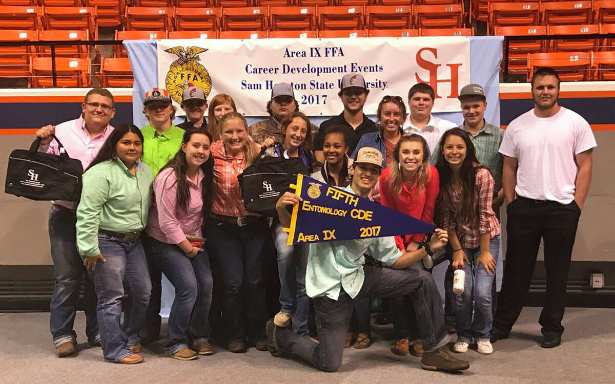 Coldspring FFA had a great showing at the Sam Houston State UniversityÂ?'s Area IX Career Development Events contest on April 11. The students had the following results: Livestock judging -10th place overall (advancing to state), Rylee Rudloff, 9th place, high point individual; Horse judging - 7th place overall, Garrett Richardson, 9th place, high point individual; Entomology - 5th place overall; Farm Business Management- 9th place overall.