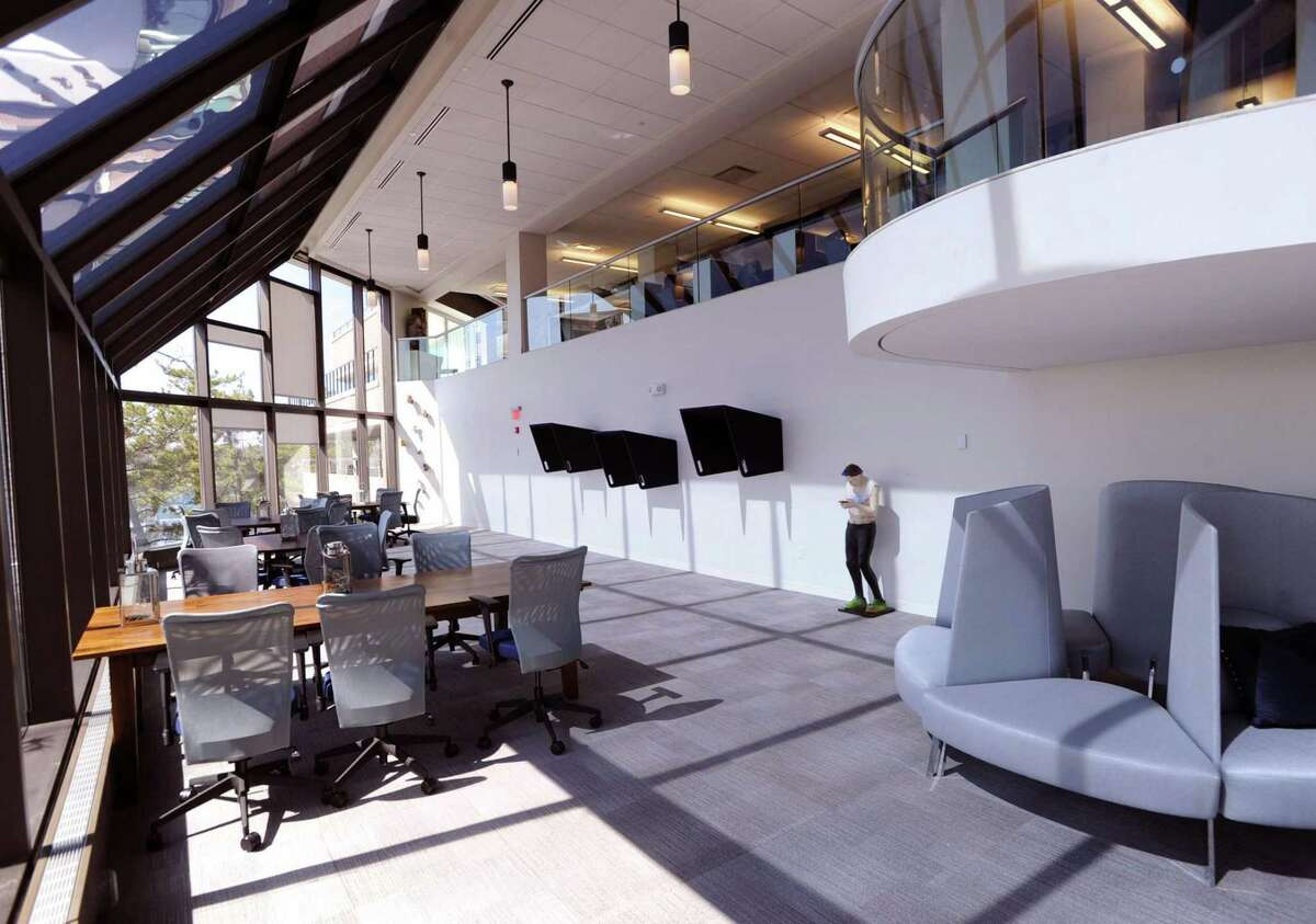 Workpoint's co-working space at 290 Harbor Drive in Stamford, Conn., Tuesday, March 22, 2016. Impesa, a Costa Rican payments software company, has opened a U.S. office there.