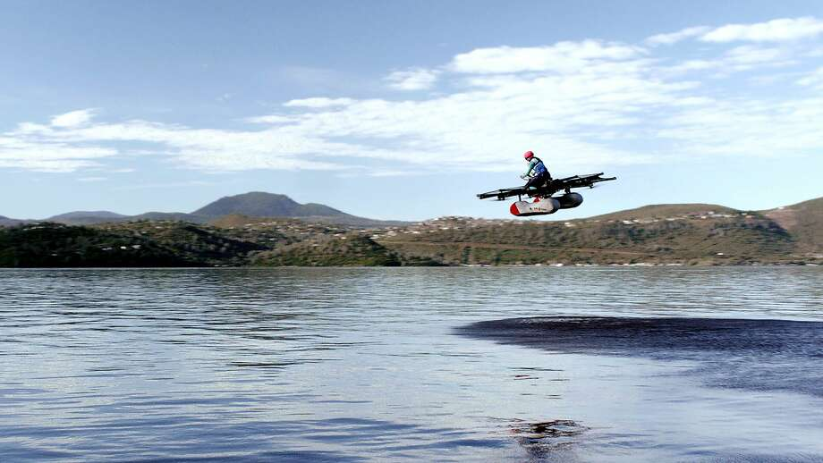 """The Kitty Hawk Flyer is one of several """"flying car"""" prototypes being designed by Kitty Hawk, a startup in Mountain View. Photo: KITTY HAWK, NYT"""
